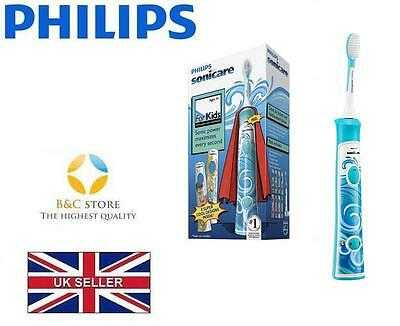 AU128.76 • Buy NEW PHILIPS HX6311/07 Sonicare For Kids Rechargeable Sonic Electric Toothbrush
