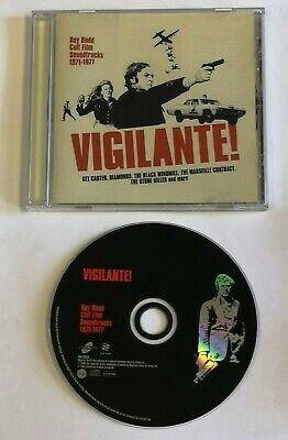 VIGILANTE - ROY BUDD SOUNTRACKS ORIG CD ***Unplayed*** Get Carter Black Windmill • 16.99£