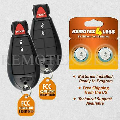 $ CDN26.83 • Buy 2 For GQ4-53T Jeep Cherokee Dodge Ram Remote Fob Entry