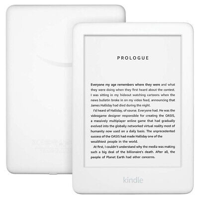 AU138 • Buy All-New 10th Gen Kindle E-reader 6″ Glare-Free Touchscreen Wi-Fi 4GB White