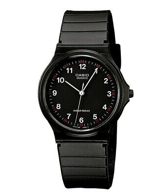 AU24.99 • Buy GENUINE Casio Watch MQ-24-1B NEW Mens Unisex Quatz Black Analogue FREE SHIPPING