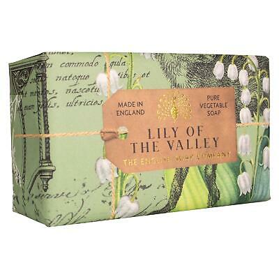 £8.49 • Buy English Soap Company Anniversary Collection Lily Of The Valley Scented 200g Bar