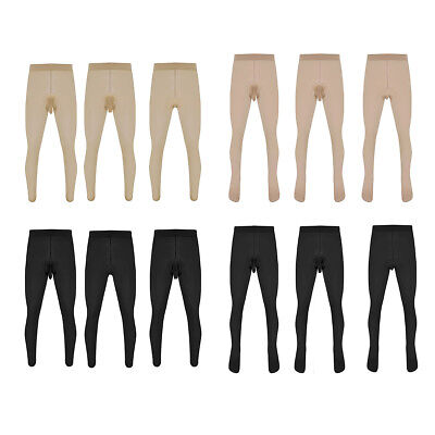 $9.66 • Buy Men's Footed Pantyhose Tights Hosiery Sheath Sleeve Stocking Seamless Lingerie