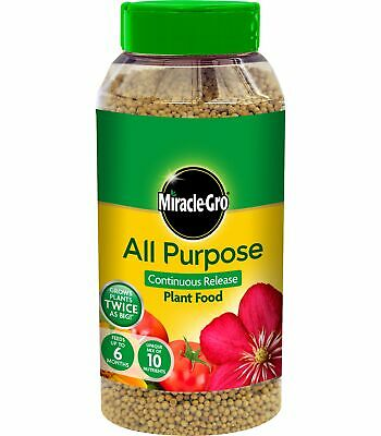 £6.99 • Buy Miracle Gro All Purpose Continuous Release Plant Food 1 Kg Shaker Jar
