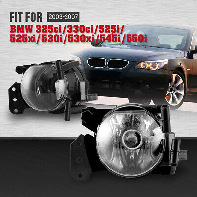 $31.14 • Buy Fog Lights For BMW E60 5 Series E46 3 Series Clear Lens Bumper Replace Lamp Pair