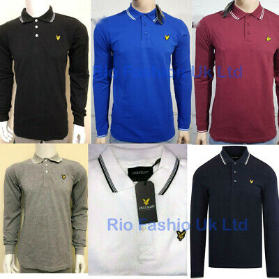 Lyle And Scott Polo Long Sleeve • 15.95£