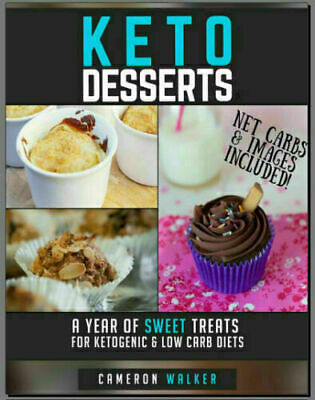 $1.99 • Buy KETO DESSERTS – A Year Of Sweet Treats For Ketogenic –  [P.D.F]