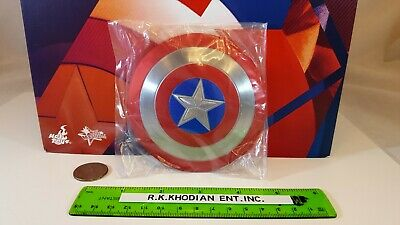 $ CDN213.37 • Buy Hot Toys MMS281Captain America 1/6 Action Figure's Metal Magnetic Shield Only!