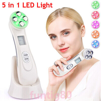 AU20.99 • Buy 5 In 1 LED Light RF EMS Photon Therapy Face Skin Therapy Wrinkle Beauty Device