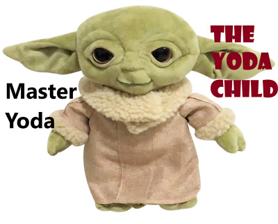 $16.99 • Buy 30 Baby Yoda Plush Toy Master Yoda Plush Pendants Stuffed Animals Dolls Ornament