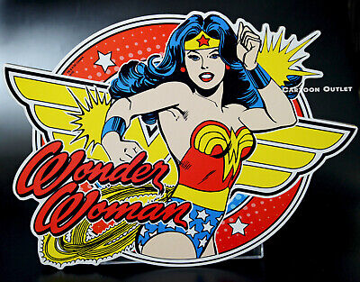 Wonder Woman Sign Wall Art Wood Poster Arcade Game Room Man Cave Decor Gift New • 14.26£