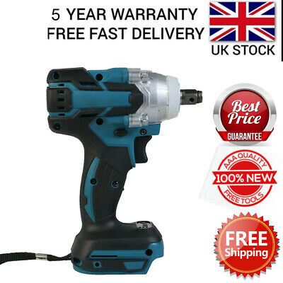 For Makita DTW285Z 18V Li-ion Cordless Impact Wrench 1/2 Square Driver Body Only • 34.10£