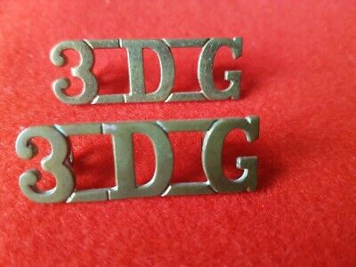 3rd Dragoon Guards Shoulder Title Pair         British Army • 22£