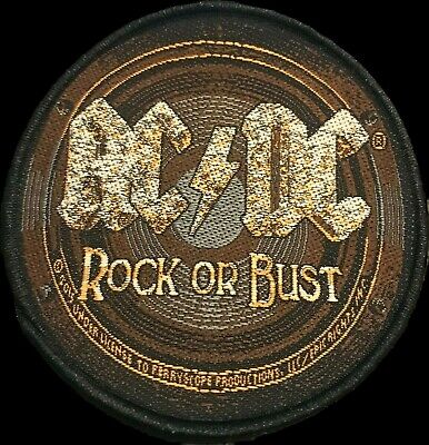 £3.90 • Buy AC/DC Rock Or Bust Embroidered Patch OFFICIAL LICENCED MERCHANDISE Album Cover
