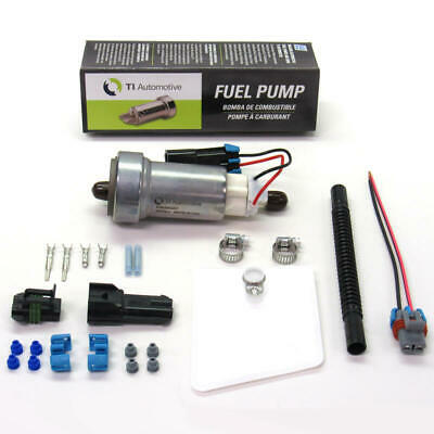 $110.60 • Buy Walbro/TI Automotive Electric Fuel Pump F485-2; In-Tank 450 Lph W Install Kit