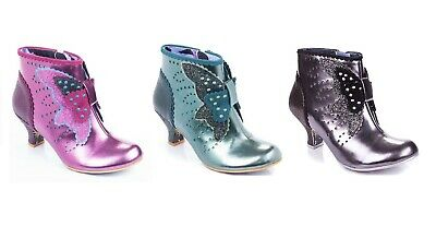 Irregular Choice ''Mariposa'' Ankle Boots Shoes - 3 Colours - Bargain Price • 49.99£
