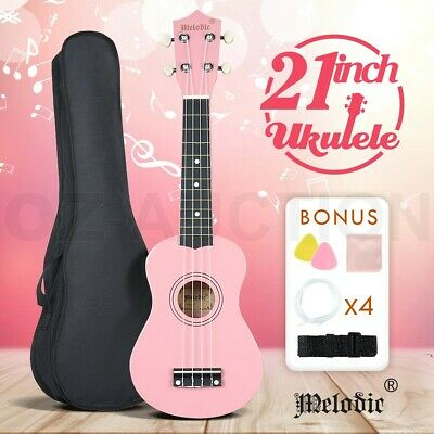 AU49.95 • Buy Kid Ukulele 21  Beginner Acoustic Soprano Ukulele Uke Kit Mini Guitar+Carry Bag