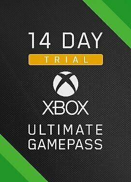 $3.40 • Buy Xbox Game Pass Ultimate 14 Day Code + Xbox Live Gold Instant Dispatch 24/7
