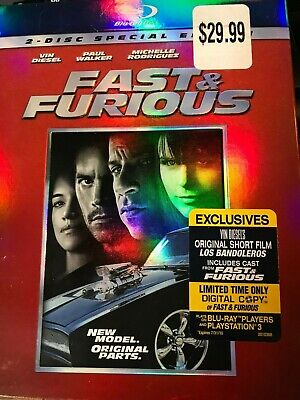 $ CDN11.85 • Buy Fast & Furious (2009)  2-disc Special Edition Blu-ray (New Sealed) + Slipcover