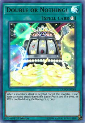 AU1 • Buy Yugioh Card - Double Or Nothing! *Ultra Rare* DUPO-EN064 (NM/M)