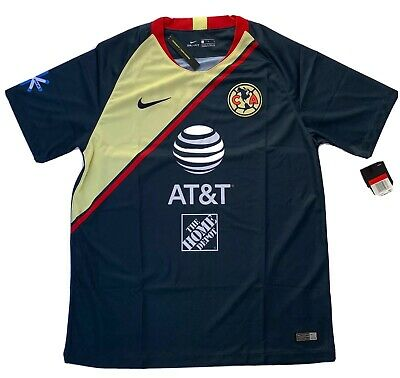 $79.99 • Buy Nike Club America Away Jersey – Navy/Red -Size Large