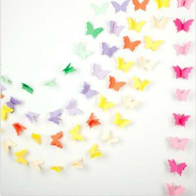 £3.08 • Buy Paper Butterfly Bunting Banner Garland Wedding Room Hanging Sign  YW