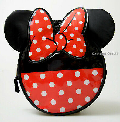 Minnie Mouse Ears Kids Insulated Lunch Box Sack Travel School Polka Dots Disney  • 9.72£