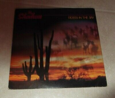 The Shadows - 7  Single - 1980 - Riders In The Sky / Rusk - EMI 5027 • 1.99£