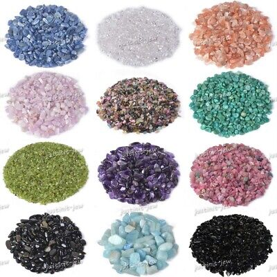 £3.73 • Buy 100 Grams Small Tumbled Chips Crushed Stone Crystal Healing Embellishments