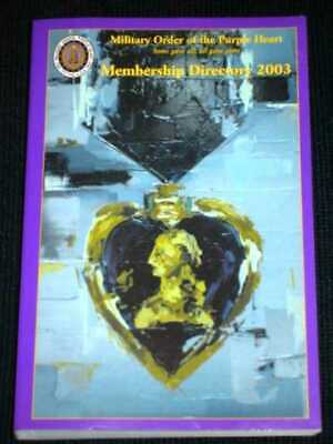 $18 • Buy Various / Unstated: Military Order Of The Purple Heart Membership Directory - 20