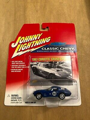 $0.99 • Buy Johnny Lightning - Classic Chevy - (1963) '63 Chevy Corvette Grand Sport #80
