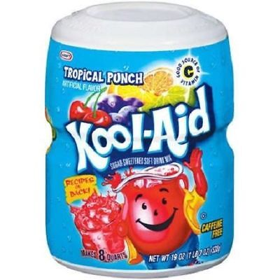 £9.88 • Buy Kool Aid Tropical Punch Drink Mix