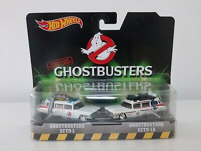 *hot Wheels Ghostbusters Ecto-1/ecto-1a Classic Twin Pack-mint* • 24£