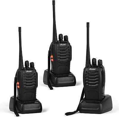 $ CDN84.09 • Buy Ansoko Walkie Talkies Rechargeable Long Range 2 Way Radios 16-channel W/ Earpiec