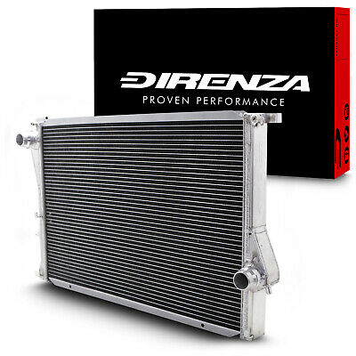 DIRENZA 42mm ALUMINIUM SPORT RACE RADIATOR RAD FOR BMW 5 SERIES E39 M5 4.9 95+ • 99.49£