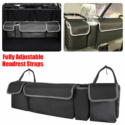 $17.97 • Buy Car Trunk Organizer Car Interior Accessories Back Seat Storage Box Bag Oxford US