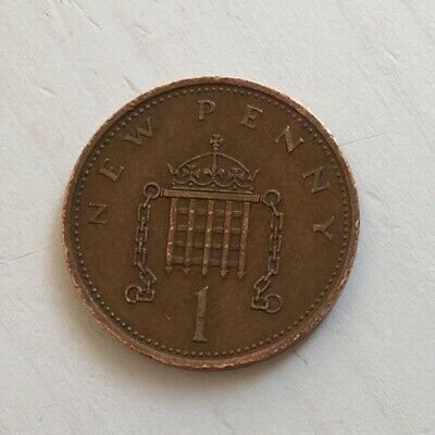 Rare 1971 New Pence Coin/collectors Item/1p Coin/best Value • 100£