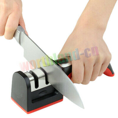 $4.25 • Buy Handle Household 3-Step Knife Sharpener Hard Carbide Ceramic Sharpening Stone