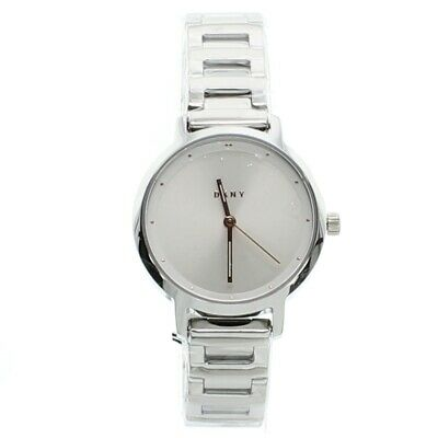 DKNY Ladies Watch Silver Stainless Steel Bracelet Modernist NY9200 • 69.99£