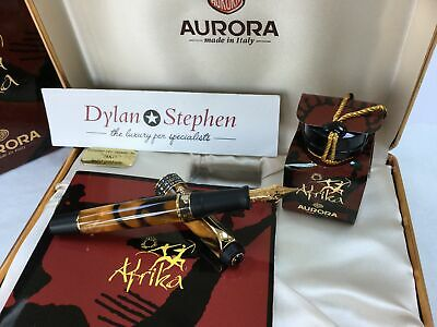 Aurora Africa Limited Edition Fountain Pen + Boxes + Papers NEW • 550£
