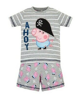 New Mothercare 2-3 Years Peppa Pig George Shorty Pyjamas NEW WITH TAG  • 7.50£