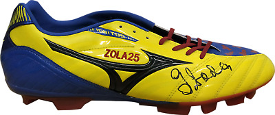 Gianfranco Zola Chelsea Signed Embroidered Football Boot See Proof Coa • 59.99£
