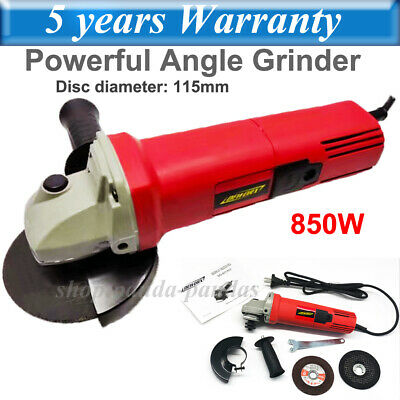 £27.40 • Buy 850W Electric Angle Grinder 115mm Cutting Grinding Polishing Sanding For Metal