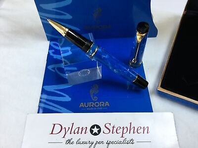 Aurora Mare Limited Edition Rollerball Pen + Boxes + Papers NEW • 299£
