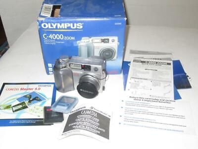$ CDN28.08 • Buy Vintage Camera -  Olympus C-4000 Zoom Camera W/accessory- Boxed - G16