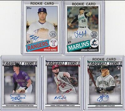 $ CDN13.38 • Buy 2020 RC AUTOGRAPH LOT (5) Topps Series 1 Yamamoto Burke Fraley McMahon Auto LOOK