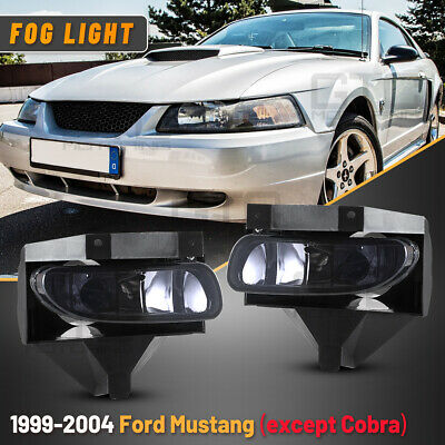 $25.60 • Buy Fog Lights For 99-04 Ford Mustang Replacement Factory OE Assembly Smoke Lamps