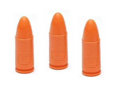 $ CDN8.02 • Buy OEM Glock 9mm Snap Cap Dummy Rounds For Training - Set Of 3 - Genuine!