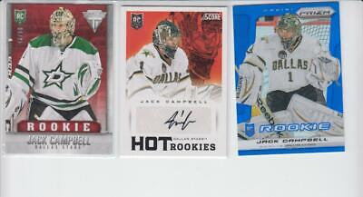 $ CDN0.99 • Buy 2013-14 Panini/score Lot Of 3 Rare Jack Campbell Rookies Incl Auto Toronto