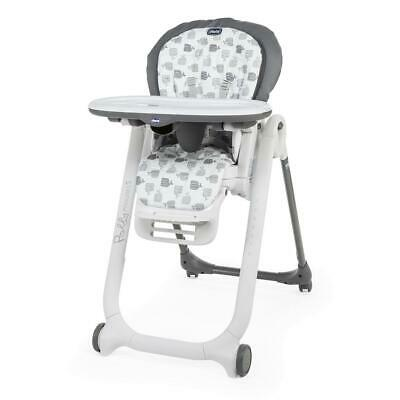 Chicco Polly Progress 5-in-1 Baby Highchair (Grey) - Suitable From Birth • 154£